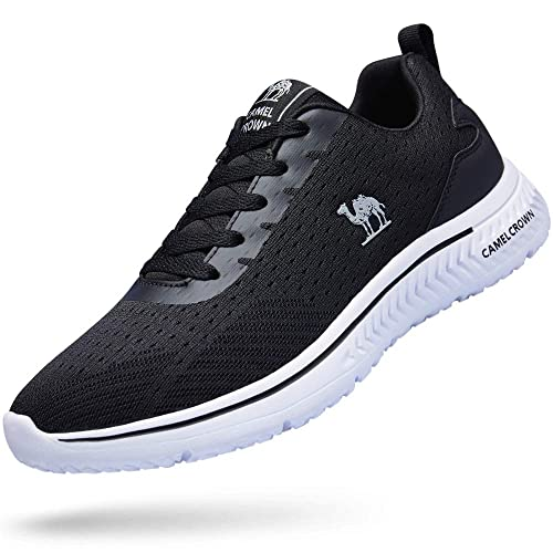 f67d66fbb934a CAMEL CROWN Running Shoes Men Tennis Shoes Fashion Sneaker Lightweight  Athletic Casual Sport Workout Walking Shoes