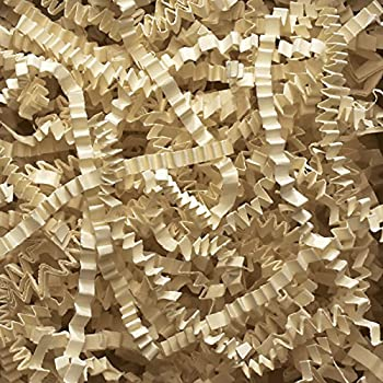 2 Pound Crinkle Cut Paper Shred - Ivory