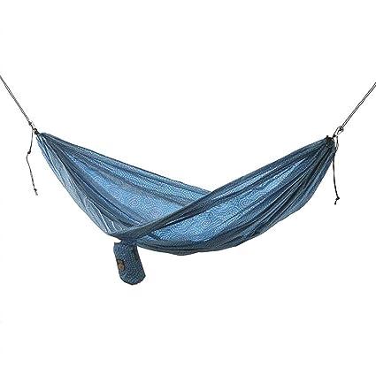 Camping & Hiking Camp Sleeping Gear Outdoor Nylon Parachute Cloth Hammock Double Hammock Portable 2 Person Leisure Ultra Light Hammock 2019 Latest Style Online Sale 50%