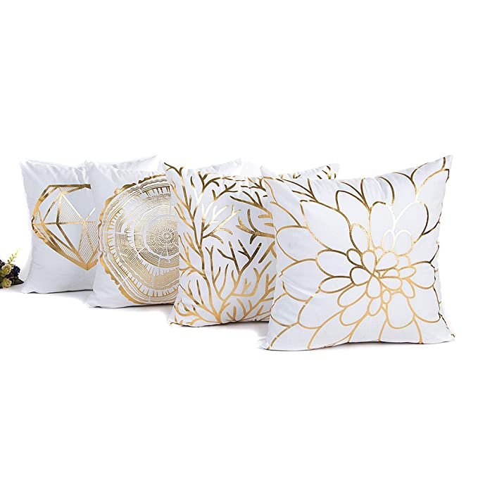 Huhu833 Geometrische Marmor Textur Dekokissen Fall Kissenbezug Sofa Home  Decor 45cm *45cm (D): Amazon.de: Küche & Haushalt