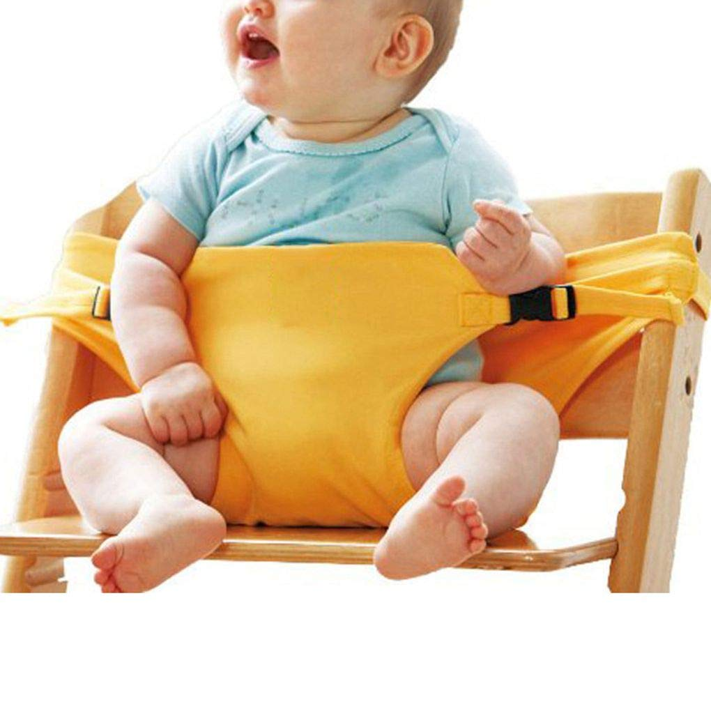 Ben-gi Baby Highchair Safety Belt Dining Lunch Chair Seat Harness Infant Children Feeding Booster Seat
