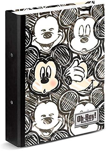 Mickey Mouse - Carpetas, multicolor