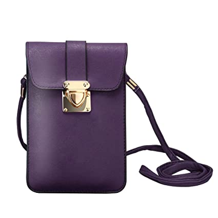 Amazon.com  JJLIKER Women Girl Small Crossbody Mobile Phone Key Coin Wallet  Fashion Casual Shoulder Messenger Mini Square Flip Bags  moneymadam 0a214e0a8296b