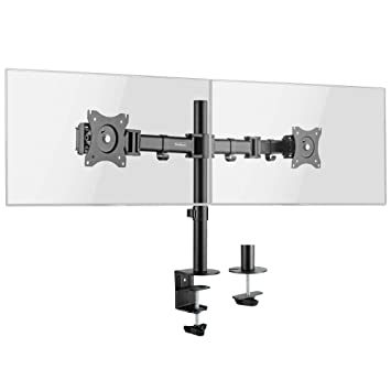 Soporte de Escritorio de Doble Brazo para Monitor LCD LED VonHaus ...