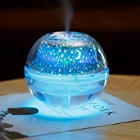 BBcoyer Cielo Estrellado Proyector LED Luz De Cristal