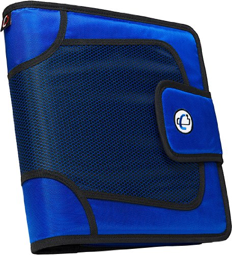 Case-it Open Tab Closure 2-Inch Binder with Tab File, Blue, S-816-BLU by Case-It