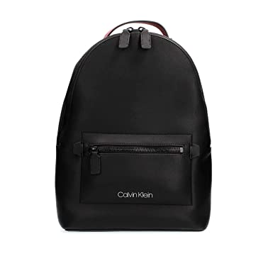 f2356e3ad657c Calvin Klein K50K503793 TRIPLE BLOCK BACKPACK RUCKSACK Herren BLACK ...