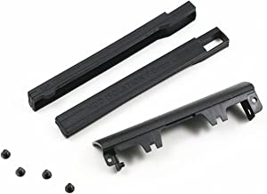 BestParts Hard Drive Caddy Cover + 7mm Isolation Rubber Rails for Dell Latitude E6540