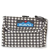 KAVU Women's Wally Wallet, Houndstooth, One Size