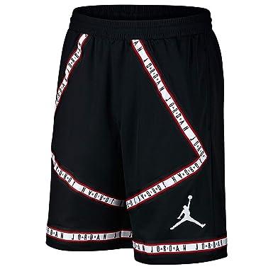 size 40 c01e9 ef717 NIKE Air Jordan HBR Taping Mens Basketball Shorts (Medium, BlackWhite)