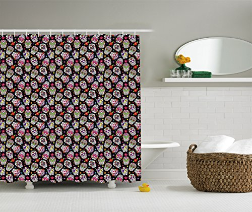 Ambesonne Colorful Background Bathroom Accessories