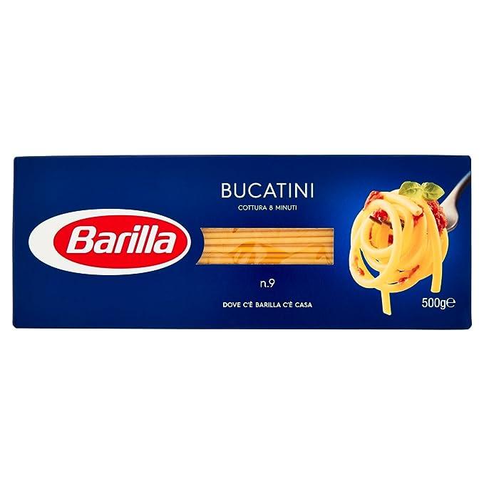 16 opinioni per Barilla Pasta Bucatini Semola di Grano Duro, 500 gr