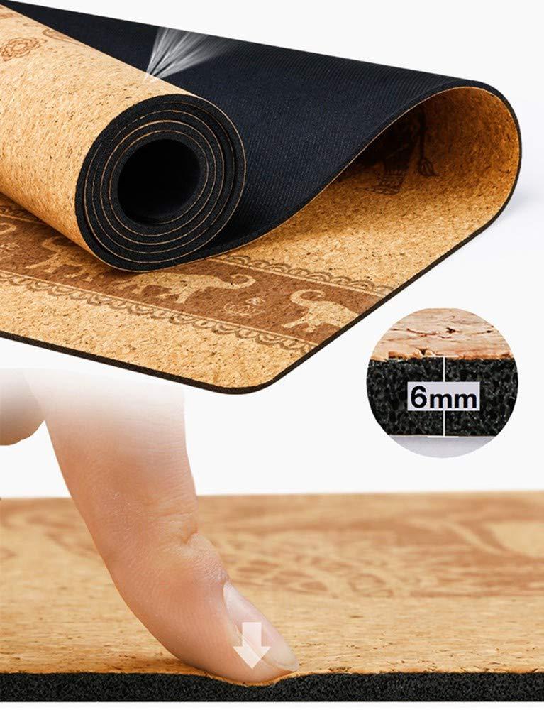 AJ Profesional Yoga Esterilla Corcho Jade Eco Antideslizante ...