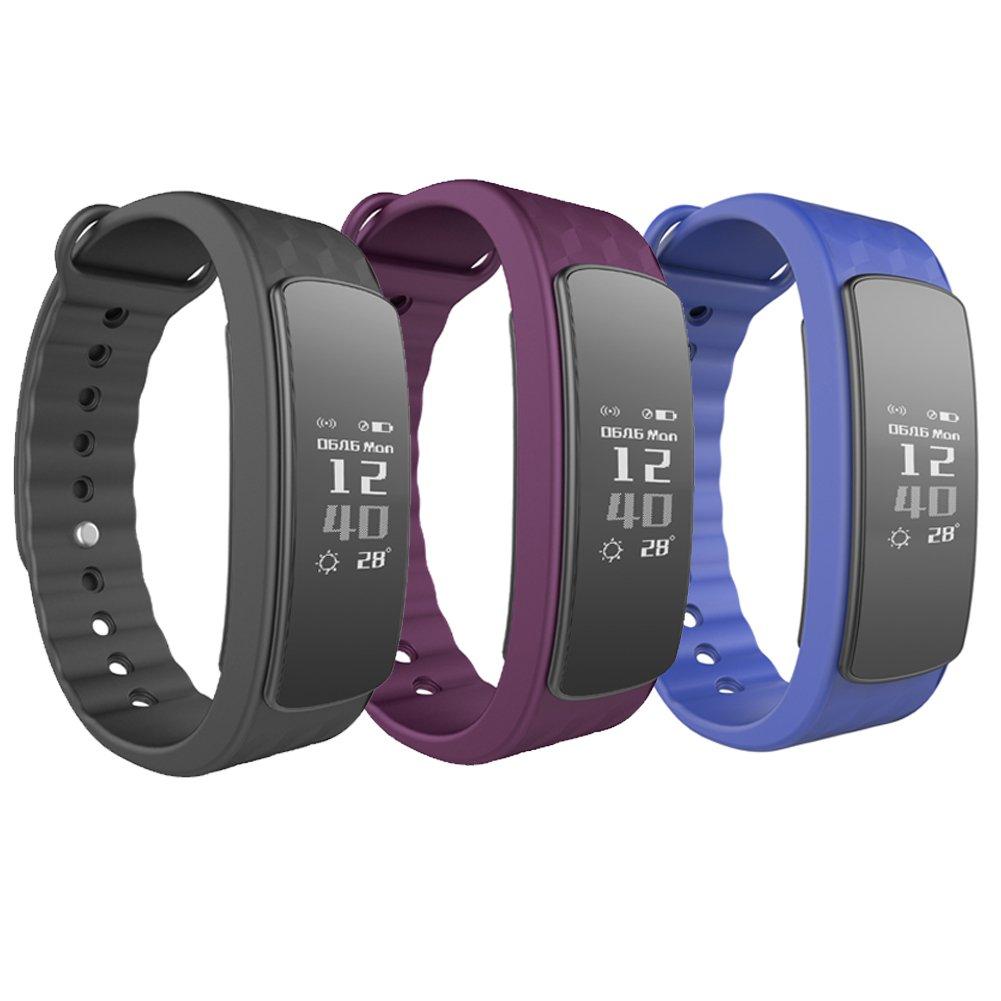 Smartwatch Demiawaking Reloj Inteligente Nuevos Relojes Inteligentes I3Hr con Monitor de Frecuencia Cardiaca Pedometer Smart Braceletf (Negro): Amazon.es: ...