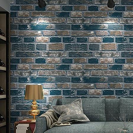 Reyqing Modern 3d Retro Retro Brick Wallpaper Dining Room Living