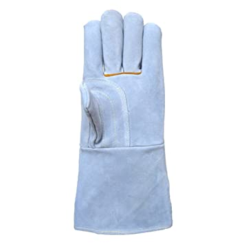 Guantes de soldadura con protección de seguridad para guantes de soldadura, guantes largos de soldadura