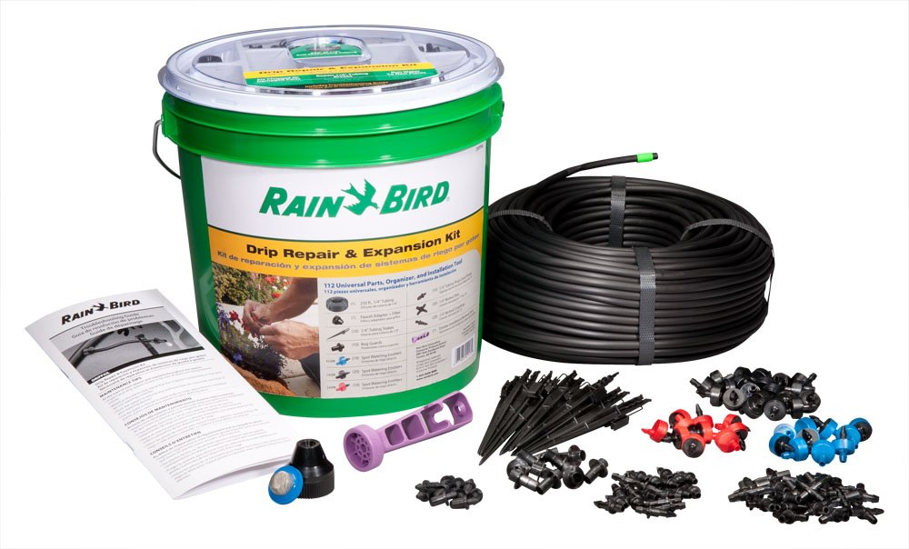 Rain Bird DRIPPAILQ Drip Irrigation Repair and Expansion Kit by Rain Bird