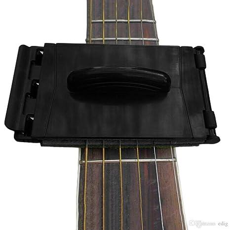 Cuerda de guitarra y diapasón limpiador para guitarra/bajo/mandolina/ukelele (color