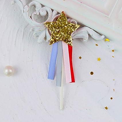 MMD Sweet Girl Estrella de Cinco Puntas Borla Pastel