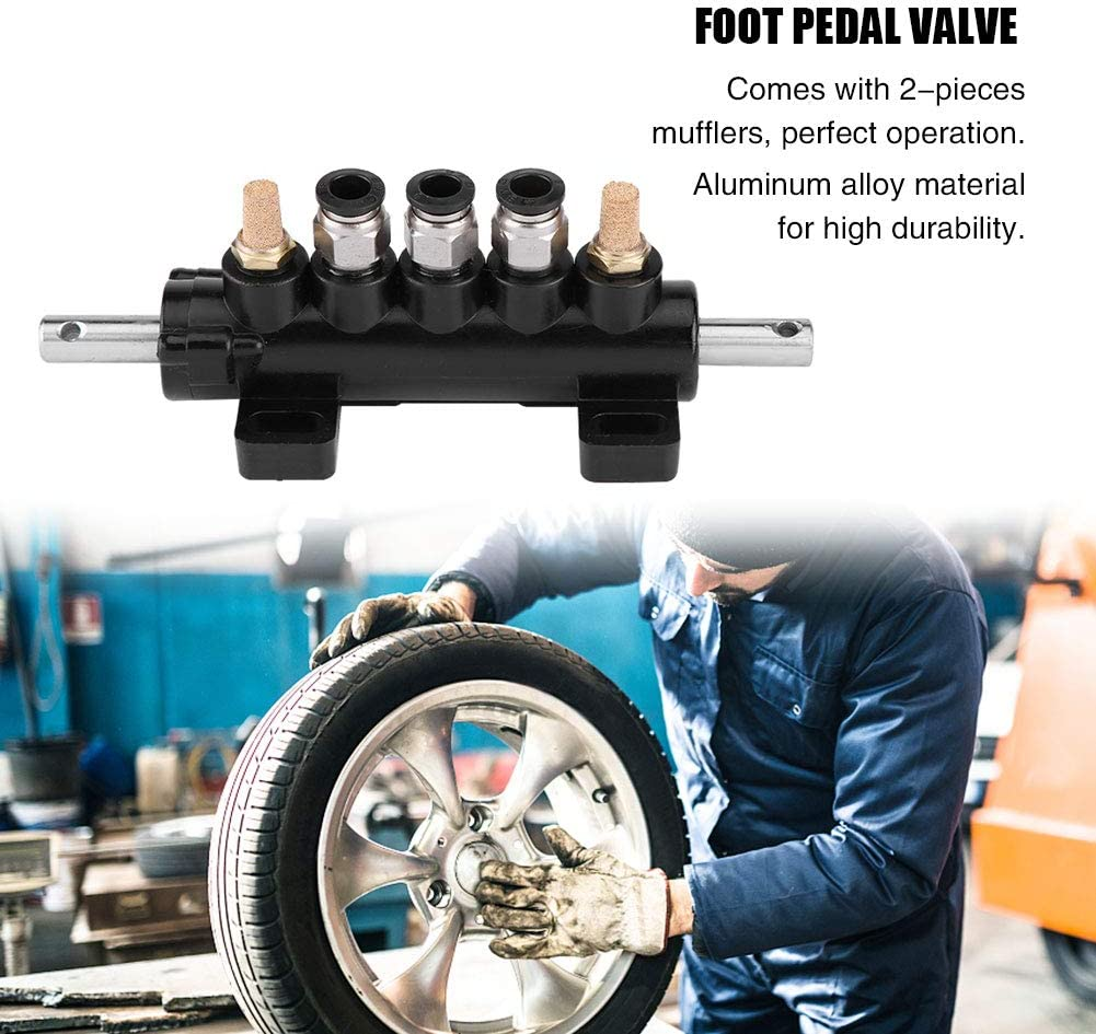 1 Air Control Valve Air Control Valve Foot Pedal Valve for Ranger Tire Changer Machine Supplies Tool Type B