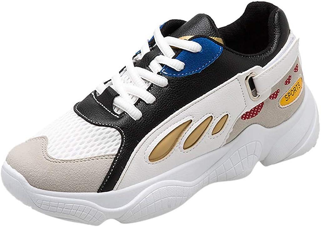 Btruely Zapatillas Deportivas Mujer Sneakers Ligero Transpirable Zapatillas Gimnasia Ligero Zapatos Deportes de Exterior Respirable para Correr: Amazon.es: Ropa y accesorios