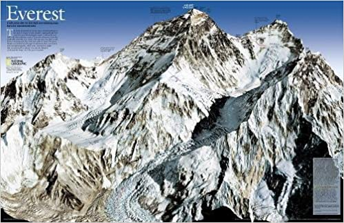 National Geographic: Mount Everest 50th Anniversary: 2 sided Wall ...