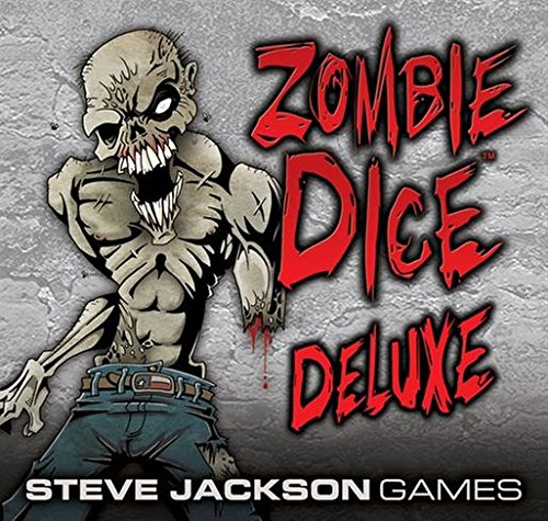 Zombie Dice Deluxe Game by Steve Jackson Games