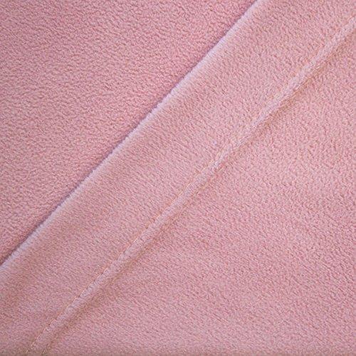 Microfleece Sheet Dusty Rose Full
