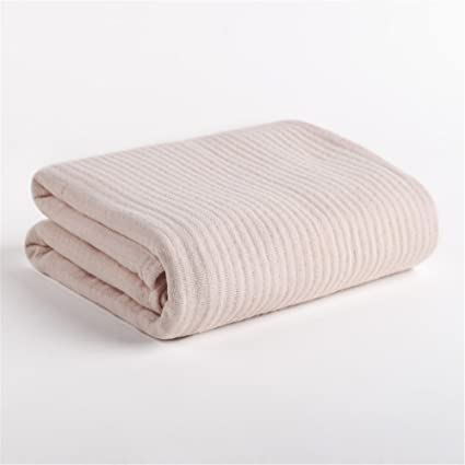 Puro algodón envuelto pecho adultos niños agua absorbente toalla de baño, toalla de baño suave
