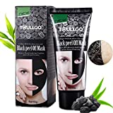 Black Face Mask, Face Mask Black black head mask Blackhead Blackhead Remover Deep Cleansing Pore Blackhead Remove Blackheads Cleansing Mask Peel Off Mask Acne Mask BLACKHEADS Cleansing Mask (60ml) (ToullGO3)