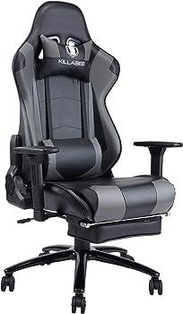 Von Racer Massage Reclining Computer Gaming Chair
