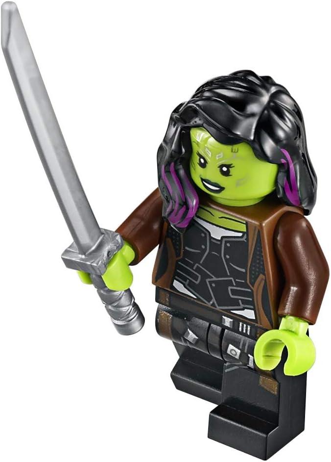 LEGO Avengers - Infinity War: Gamora Minifigure with Sword 2018