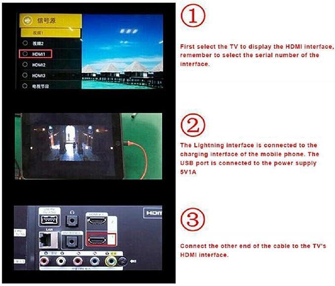 Convertidor HDMI para teléfono móvil a TV Convertidor HDMI ...