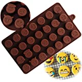 HENGSONG Chocolate Mould Emoji Mould Silicone Jelly Candy Cake Sugar Silicone Molds DIY Funny