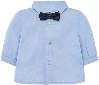Mayoral Camisa con pajarita de bebé Newborn: Amazon.es: Ropa