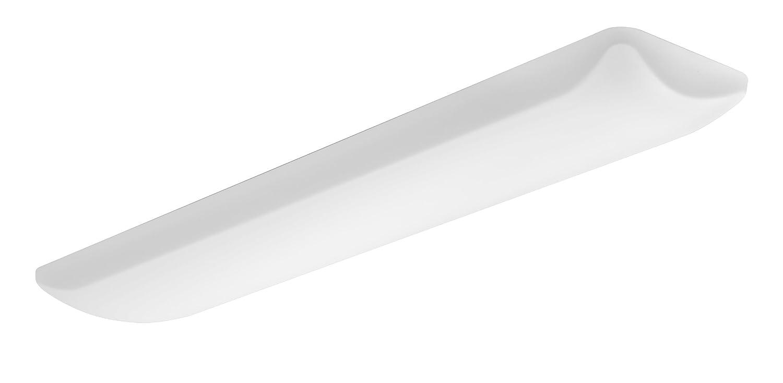 Lithonia Lighting FMLL 9 30840 4-Feet 4000K LED Low Profile Lightpuff with White Acrylic Diffuser