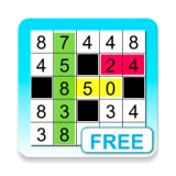 Fill-it in puzzles with number (Free)