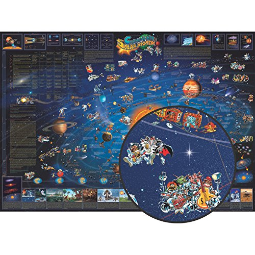 Round World Products RWPDM006 Children Map Of The Solar System, 54