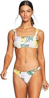 product image for Vitamin A Women's Soleil Floral Nico Bandeau Bikini Top