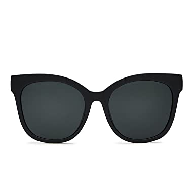 a8c2d5041f Quay Australia IT S MY WAY Women s Sunglasses Oversized Cat Eye -Black Smoke