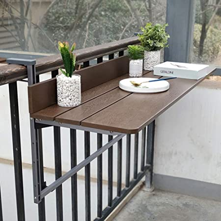 Table Suspendue De Balustrade De Balcon Bureau D Ordinateur