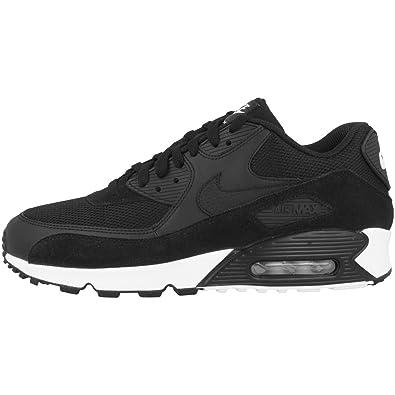 NIKE Herren Air Max 90 Essential Sneakers, Schwarz Black White 077, 49.5 EU 7bcb1635dd