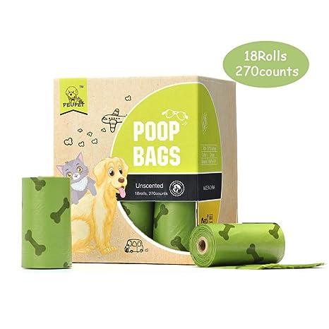 Amazon.com: PEUPET - Bolsas de basura para perro ...