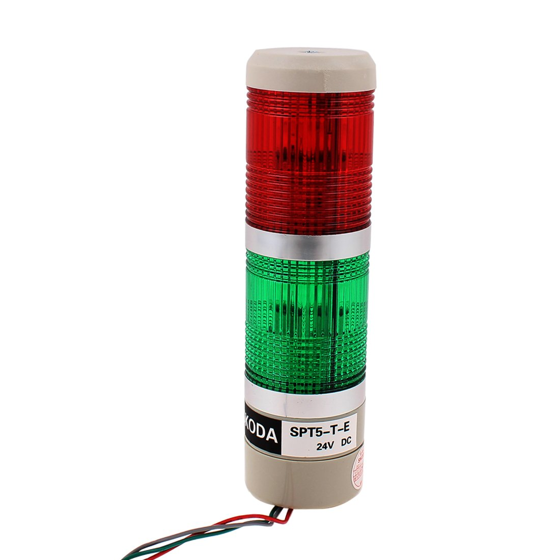 DC 24V Green Red Signal Tower Industrial Warning Stack Light SPT5-T-E