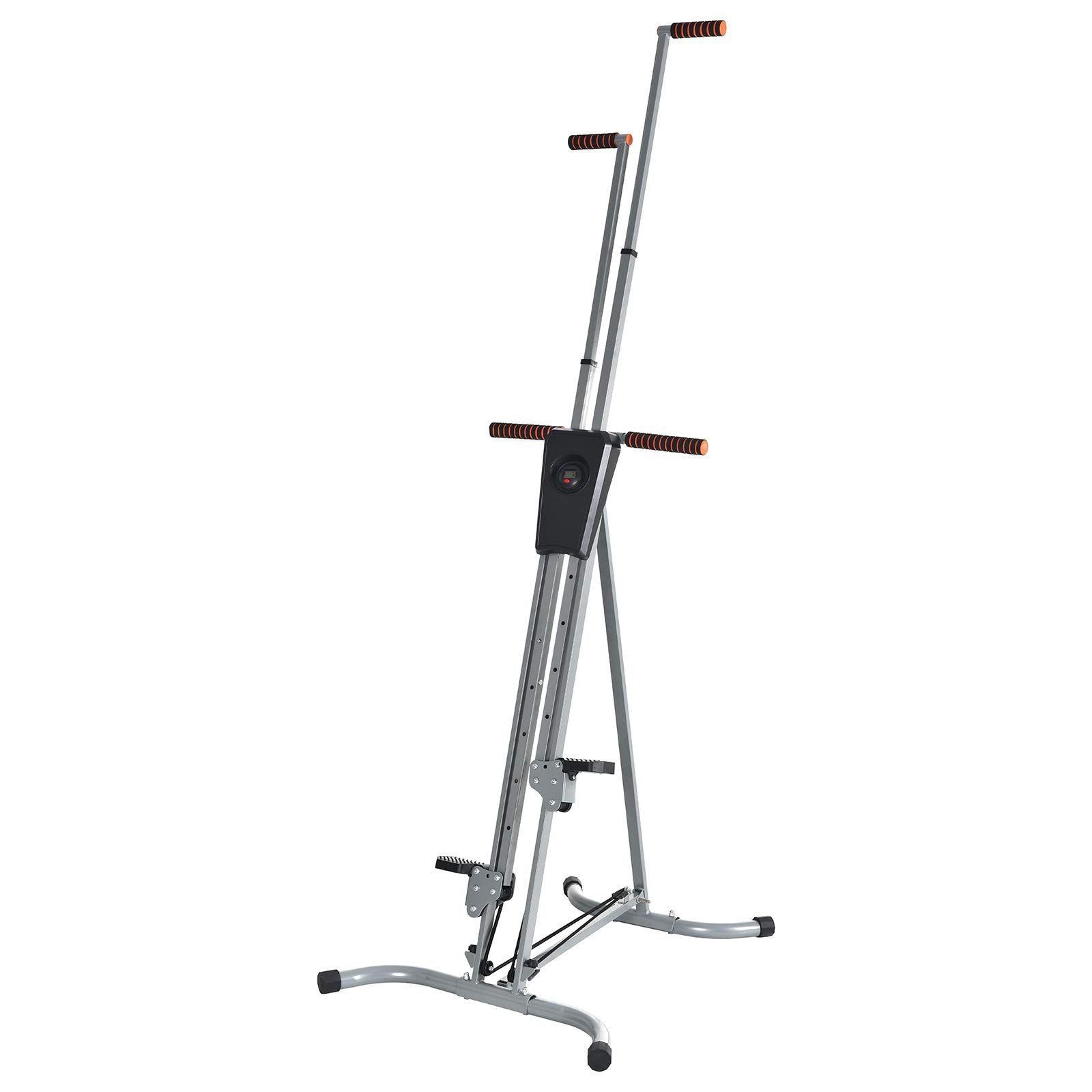 Murtisol Exercise Climber Fitness Vertical Climbing Cardio Machine with LCD Monitor,Natural Climbing Experience for Home Body Trainer by Murtisol (Image #7)