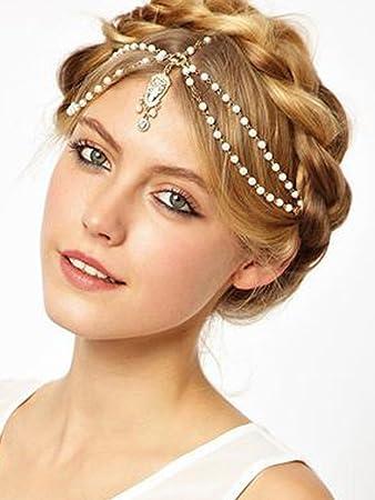 Amazon Aegenacess The India White Indian Hair Chain Jewelry