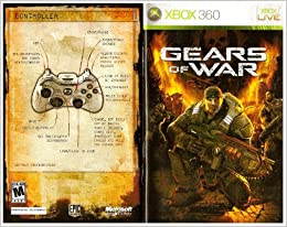 Gears of War 1 Xbox 360 Instruction Booklet (Microsoft Xbox ... on