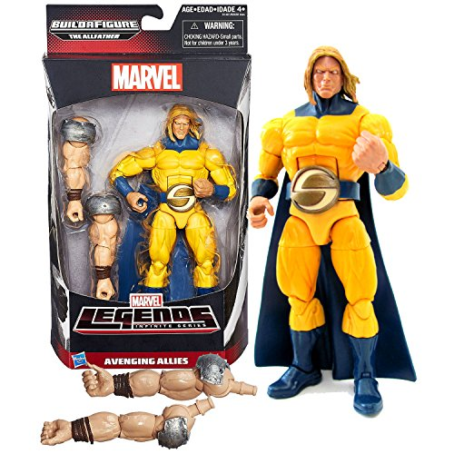 Hasbro Year 2015 Marvel Legends Infinite The Allfather Series 7 Inch Tall Action Figure - Avenging Allies Marvel's SENTRY with The Allfather's 1 Pair of Arm