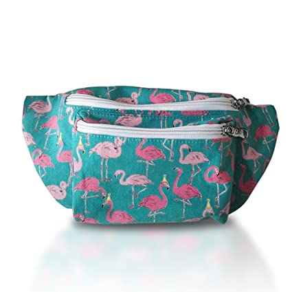 183ccc249e62 Flamingo Fanny Pack Cute Fanny Packs For Women Men Fun Styles Festival  Raves Fashion Belt Multiple Sizes Waterproof Waist Pack Hip Pack from Who's  ...