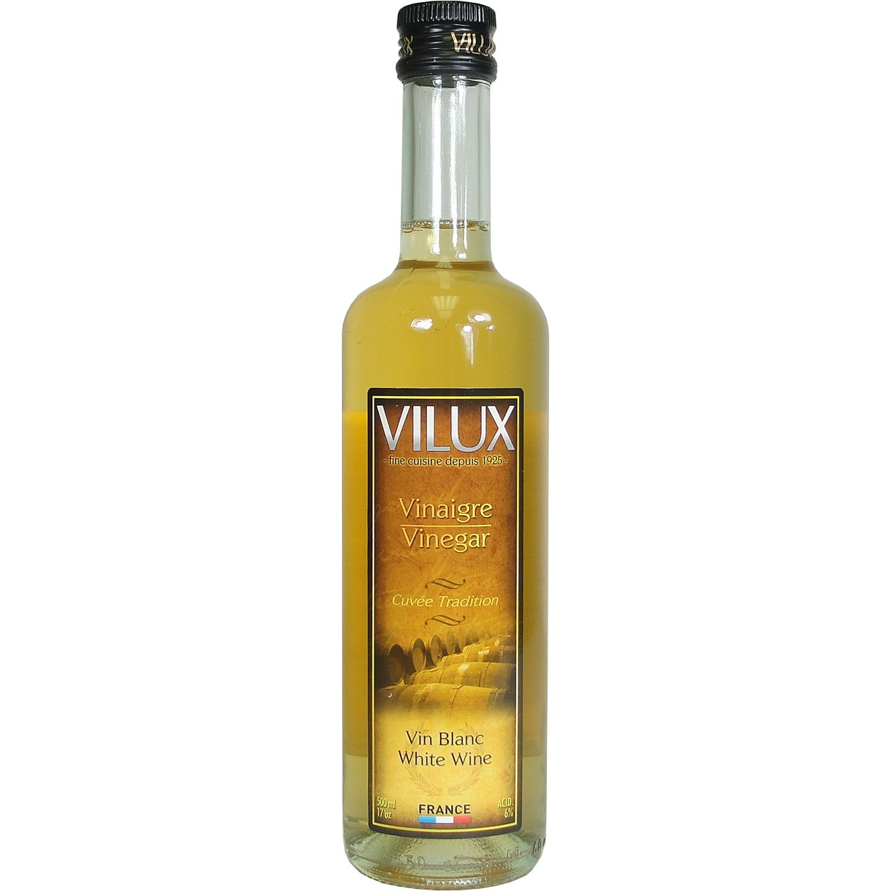 Amazon Com Vilux Vinaigre De Vin Blanc White Wine Vinegar